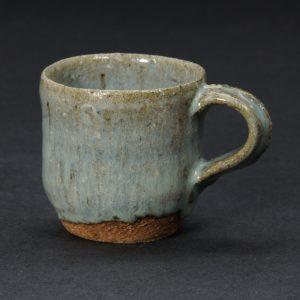 浜本洋好 唐津焼 三里窯 斑唐津 コーヒーカップ