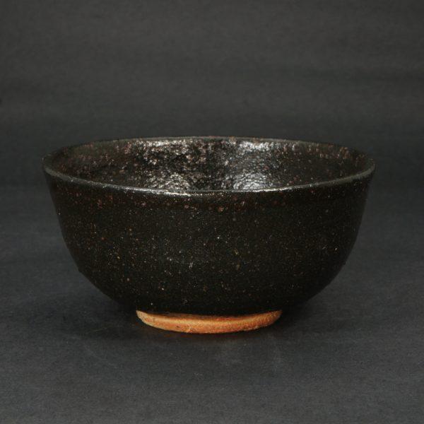 黒唐津茶碗 K156 浜本洋好作 唐津焼 三里窯